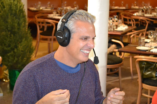 Eric Ripert having fun with Marcus and Ruth on the radio.