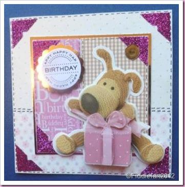Boofle Birthday Crad