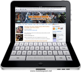 Flexible iPad Mobile Spoon