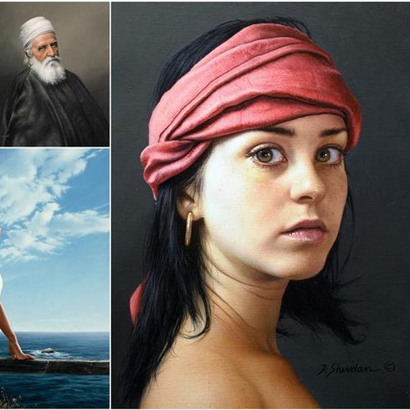 Stunning Paintings by Duffy Sheridan