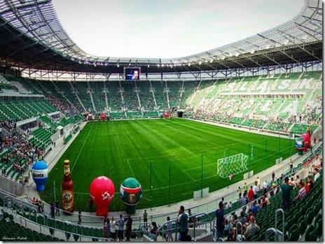 stadionul municipal wroclaw - euro 2012