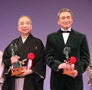 第34回松尾芸能賞贈呈式