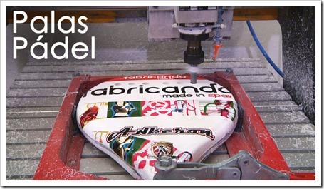 """¿Cómo se fabrica una pala de pádel? Conócelo gracias al programa """"Fabricando Made in Spain"""" de TVE y a la firma Akkeron."""