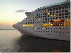 20121024 MSC Oceana departing - from Opus (Small)
