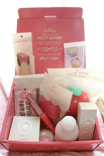 Etude House June Pink Box Priscilla