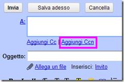 Aggiungi Ccn Gmail