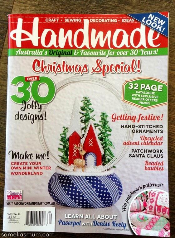Contemporary Christmas - Handmade Cover