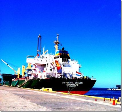 Boat at Port Manatee