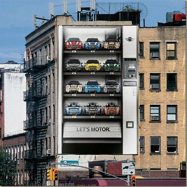 Publicités sur immeubles-mini