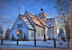 swedish church in Pitea by Michael Cavén on flickr