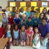 WBFJ Cici's Pizza Pledge - Caleb's Creek - Mrs. Grubbs 5th Grade Class - Kernersville - First Visit