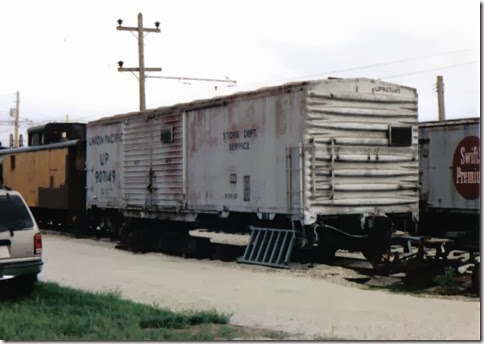 Union Pacific Boxcar #907149 at the Illinois Railway Museum on May 23, 2004