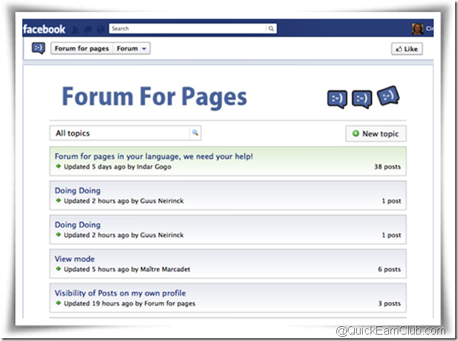 forum-for-pages