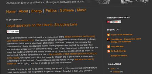 Ubuntu Shopping Lens potrebbe essere illegale in Europa
