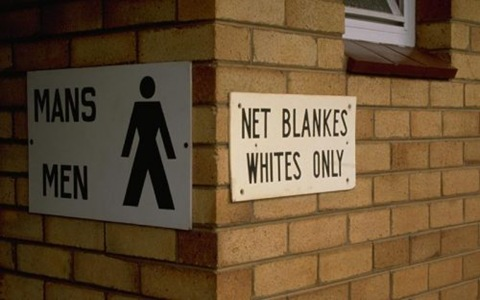 Apartheid Whites Only