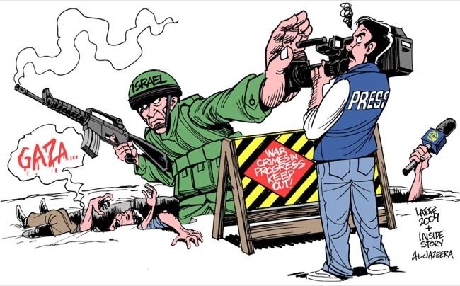 CC Photo Google Image Search Source is fc08 deviantart net  Subject is Israel Press Freedom by Latuff2