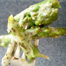 Low Calorie Cheesy Asparagus