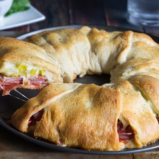 Ham And Cheese Crescent Rings Recipes