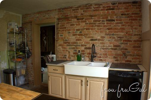 Kitchen Renovation - Progress - Sink Wall