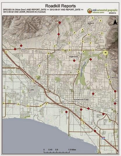 2014-08-05 Roadkill Reports 2012-2013