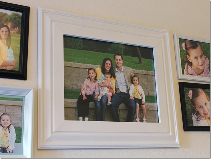 DIY Large Picture Frame Using Molding