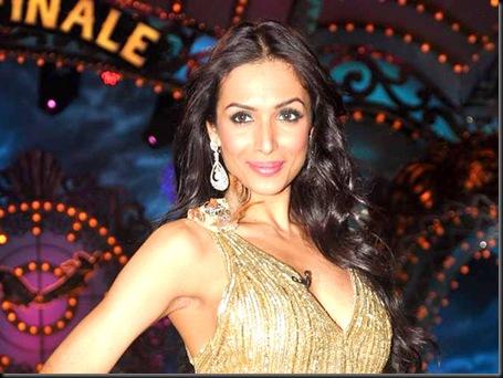 Malaika, Genelia on the sets of Saroj Khan Show5