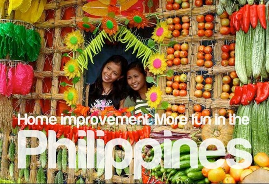 Home improvement - More fun in the Philippines