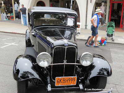 Carmel California Ocean Avenue Car show