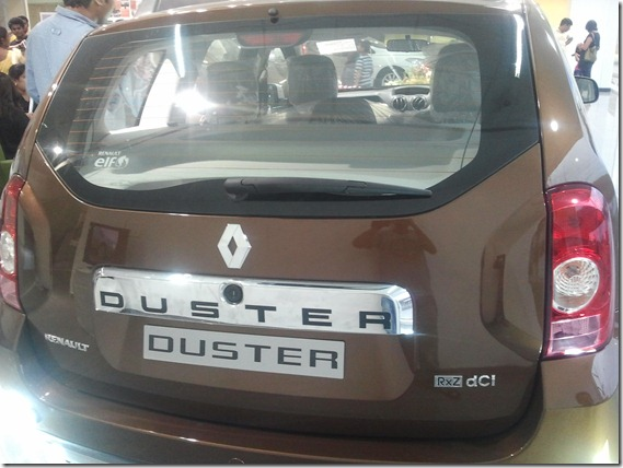 Renault Duster Back2