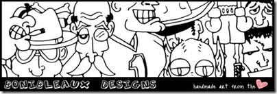 Bonibleaux Designs header