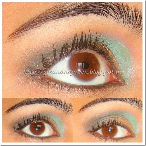 Intense Smokey Green Eyes Pictorial
