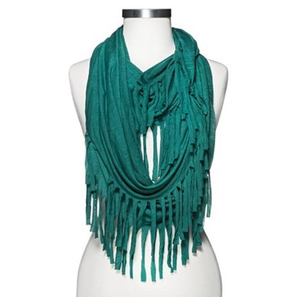 target fringe scarf