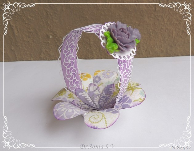 Handmade Basket Tutorial : Cards crafts kids projects easy paper basket tutorial