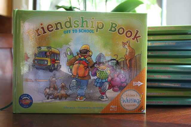 The original Friendship Book: &quot;Off to School&quot;