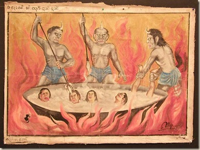 narakas budismo infierno ateismo