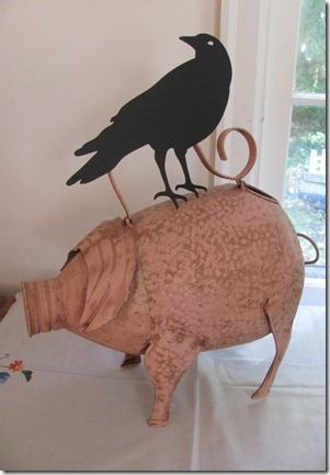 Crow with Pig