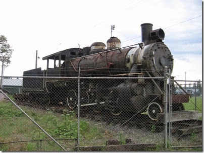 IMG_6432 Cowlitz, Chehalis & Cascade 2-8-0 #25 at Fort Borst Park in Centralia on May 12, 2007