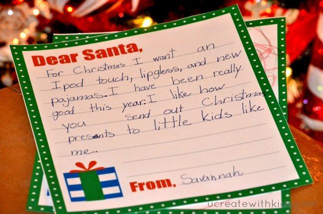 Santa Claus Letter