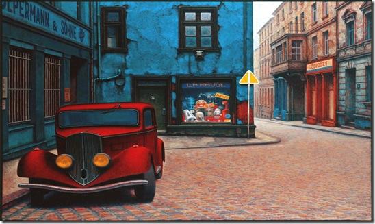 AUTOITA Andreas-M-Wiese-El coche rojo.