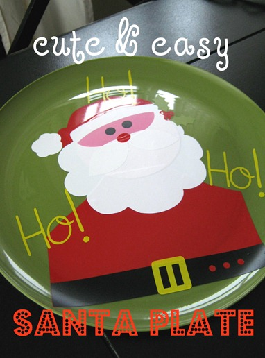 santa plate 2