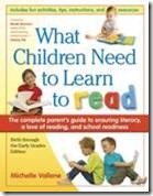 What Children Need to Learn to Read by Michelle Vallene
