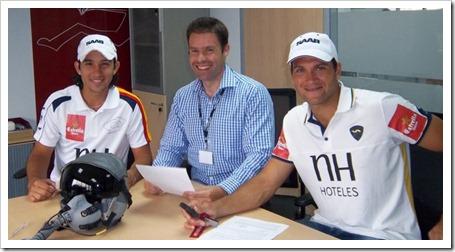SAAB apuesta por el mejor pádel del mundo: patrocinador de S. Nerone y D. Gutiérrez 2011