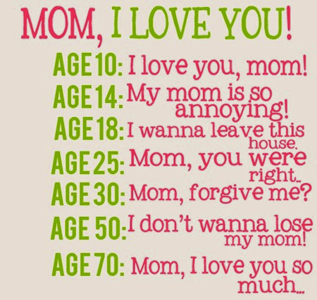 mom i love you