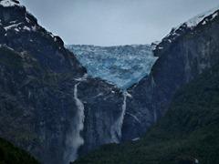 Ventisquero Colgante in Parque Nacional Queulat, Chile.