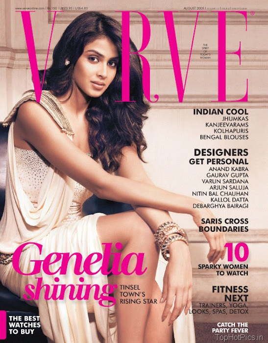 Genelia Hot Photo shoot for magazine 3