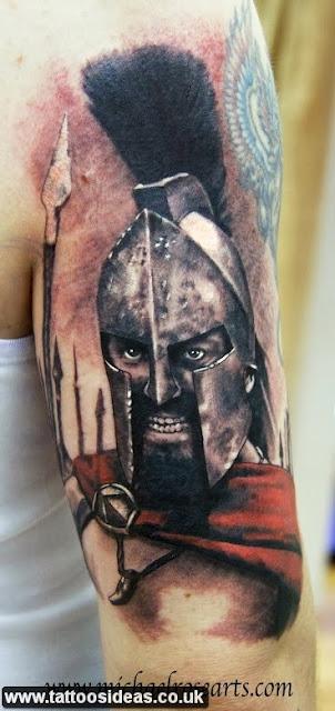 Tattoo meanings samurai warriors