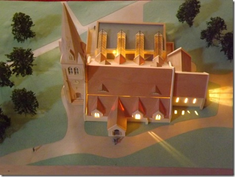 Model Of St Michael's  Camberley Modernisation