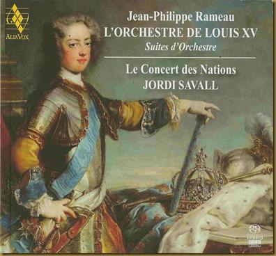 Savall Rameau Orquesta Luis XV