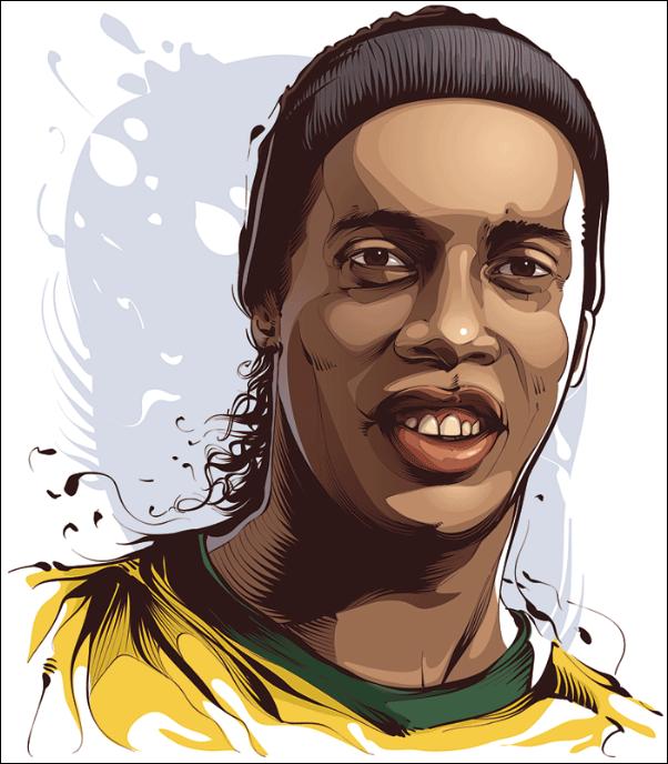 Ronaldinho - Joueur de Football
