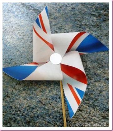Jubilee Crafts Jubilee pinwheel.
